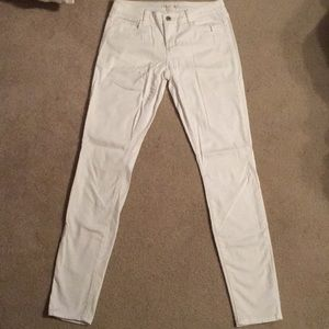 Decree White Skinny Jeans